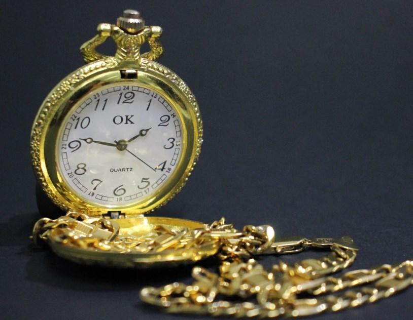 金・銀の懐中時計